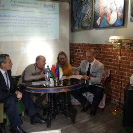 Прес-конференція білоруських організацій, що беруть участь у проекті THEOREMS-Dnipro